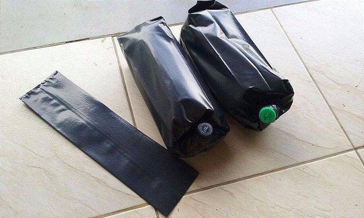 Sacos Embalagens Preto Para Isca Pet De Asf Jataí E Mandaçaia Pacote com 50 Unidades