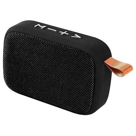 Caixa De Som Evolut Bluetooth FM USB Eo-650 Preto