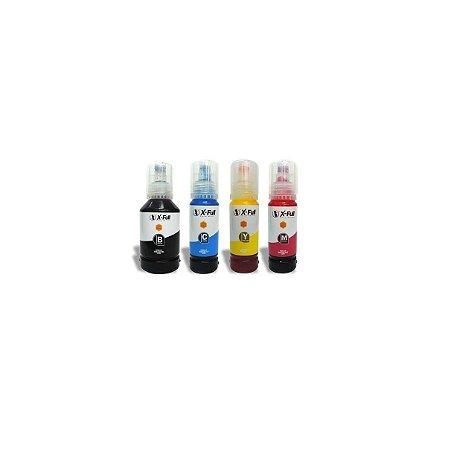 Tinta Pigmentada X-full Epson Compatível Black e Color L6160 L6161 L4160 L6190