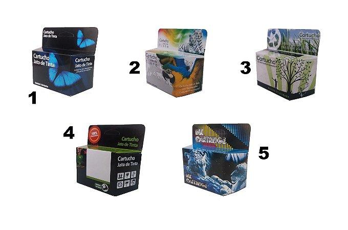 Caixa Neutra Para Cartuchos Jato De Tinta Compatível Hp Canon Lexmark 100 Unidades
