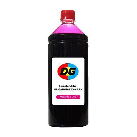Tinta Universal Para Cartuchos Jato de Tinta Hp Canon Lexmark Magenta 1 Litro
