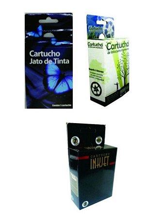 Caixa Neutra Para Cartuchos Jato de Tinta Serie 600 800 9000 3000 Pacote Com 100 Unidades