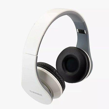 Fone De Ouvido Head Phone Bluetooth Evolut Eo-601 Dobrável