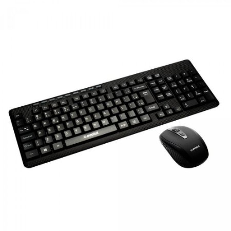 Combo Teclado E Mouse Wireless Evolut Office Eo-501