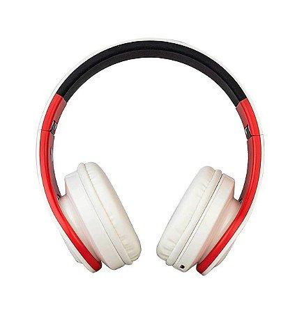 Fone De Ouvido Head Phone Bluetooth Evolut Eo-602 Dobrável V5