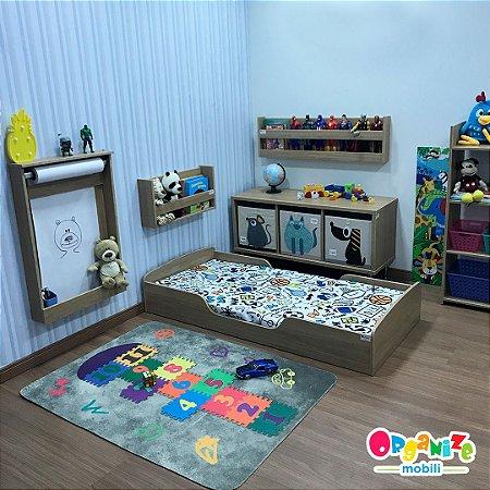 Mini cama mobili kids itapuã + colchão D18