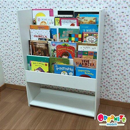 Organizador de livros e utilidades