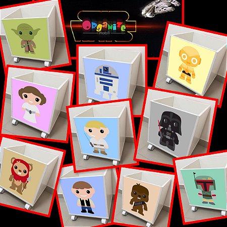 Baú organizador de brinquedos Star wars