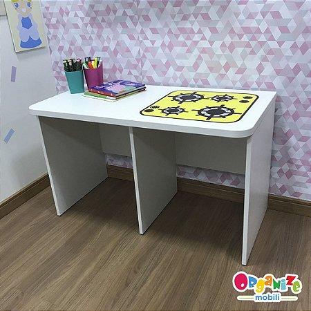Rack para baú organizador infantil com tema de cooktop