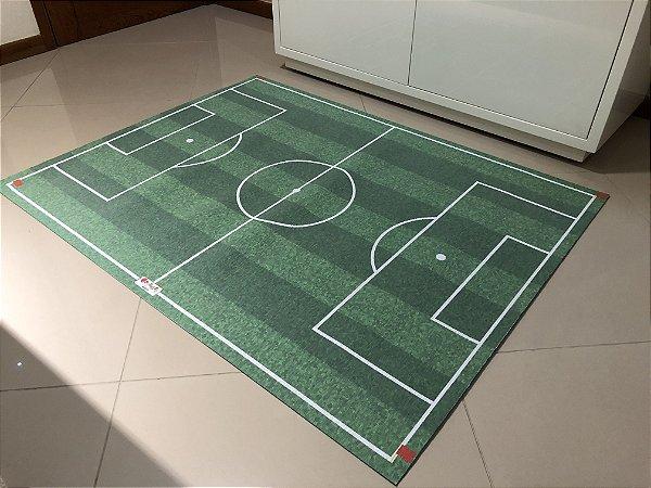Tapete campo de futebol PVC - medida 1,00 x 1,30