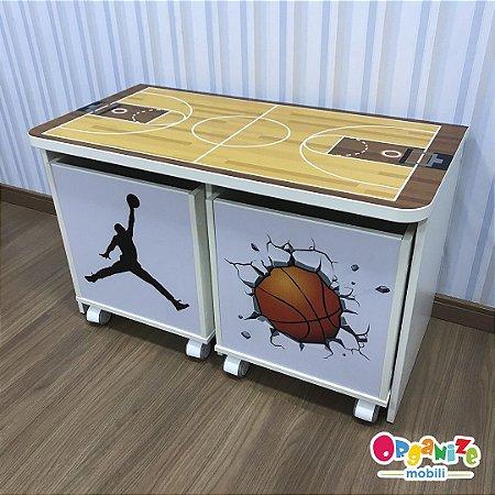 Combo basquete (rack + dois baus)