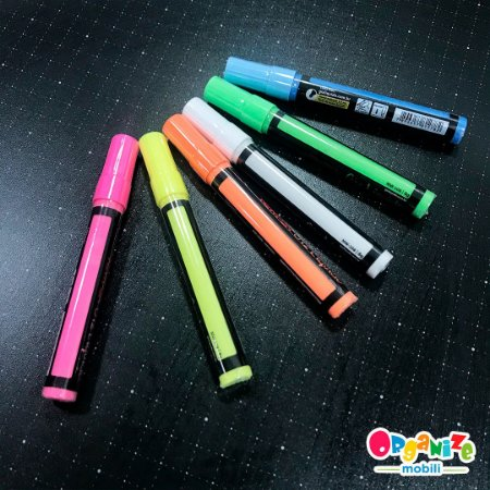 Combo Caneta giz líquido (6 unidade) - cores da foto