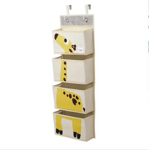 Organizador de parede multiuso 3 sprouts girafa