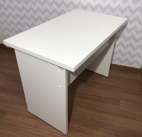Mesa working 1,00 x 0,60 - tampo branco - adulto