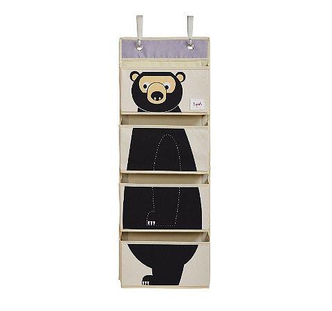 Organizador de parede multiuso 3 sprouts urso