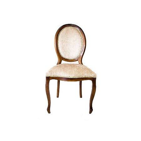 Cadeira de Jantar Medalhão Bege
