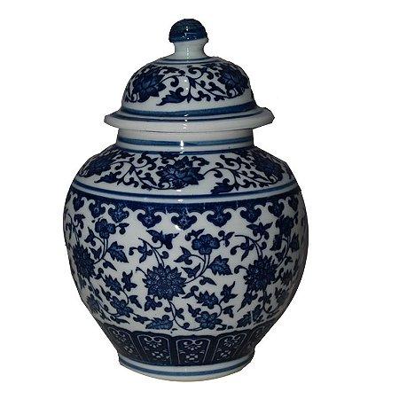 Potiche Vasinho Português Azul P