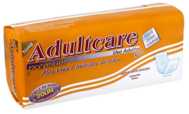 Absorvente Adulto Adultcare Premium Unissex - Tam. Único - 20 Unid.