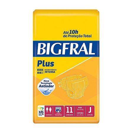 Fralda Descartável Geriátrica Bigfral - Juvenil - 11 Unidades