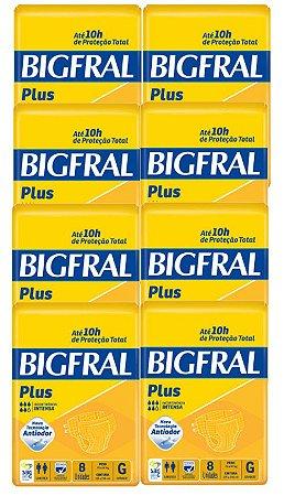 Fralda Geriatrica Bigfral G 64 Unidades