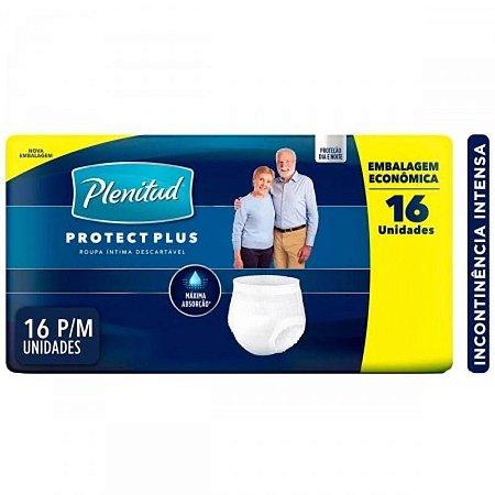 Fralda Geriátrica Plenitud Protec Plus Pants P/M C/16