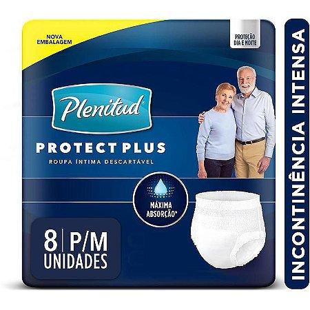 Fralda Geriátrica Plenitud Protec Plus Pants P/M C/8