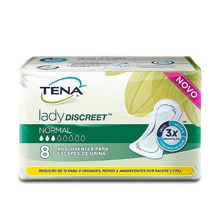 Absorvente Tena Lady Discreet Normal 8 Unidades