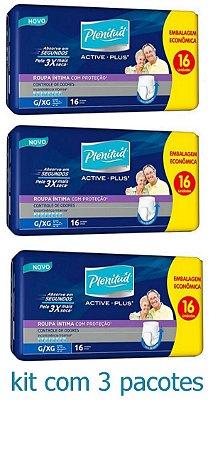 Fralda Geriátrica Protec Plenitud Plus Pants G/Xg C/48