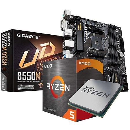 KIT Upgrade - AMD Ryzen 5 5600X + Gigabyte B550M DS3H