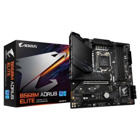 Gigabyte B560M Aorus Elite (rev. 1.0) Chipset B560 Intel LGA 1200 mATX DDR4
