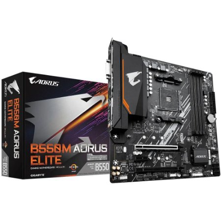 Gigabyte B550M Aorus Elite, AMD AM4, Micro ATX, DDR4