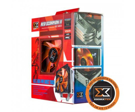 Cooler Xigmatek Red Scorpion II SD1283 120mm (CAC-SXHH3-U03)