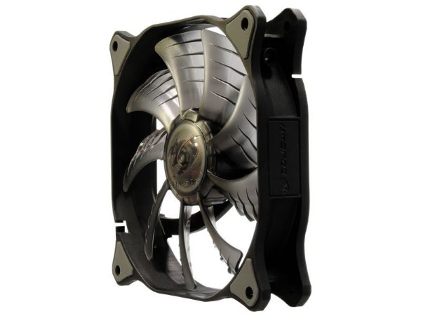 Fan Cougar 140mm Hydraulic (Liquid) Bearing Ultra Silent Fan Black (CF-D14HB)