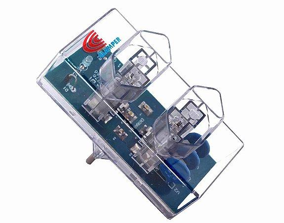 Protetor contra Surtos DPS e-Clamper - 2 Tomadas (E-PT-2Bt-L-T)