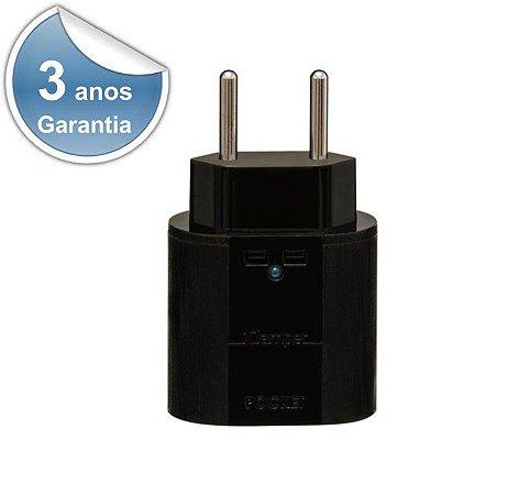 Protetor DPS iClamper Pocket 2P 10A Preto 10193