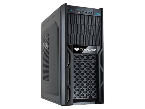 Gabinete Cougar Solution 67M3 USB 3.0 Mid Tower Preto