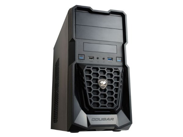 Gabinete Cougar Spike Mini Tower Preto USB 3.0 (5SS7)
