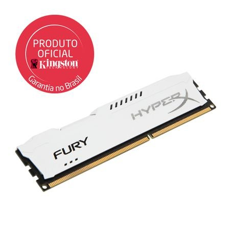 Kingston HyperX Fury Series 8GB DDR3 1866 Branca (HX318C10FW/8)