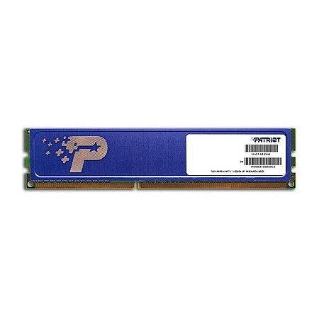 Memória Patriot 4GB (1 x 4GB) DDR3 1600MHz (PSD34G160081H)