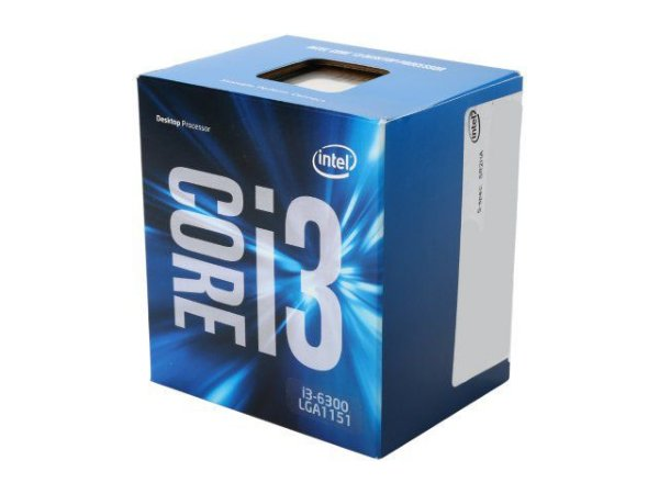 Intel Core i3-6300 4M Skylake 3.8 GHz LGA 1151 65W Dual-Core Intel HD Graphics 530 (BX80662I36300)
