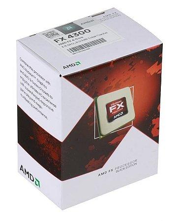 AMD FX-4300 Vishera 3.8GHz (4.0GHz) Socket AM3+ 95W Quad-Core (FD4300WMHKBOX)