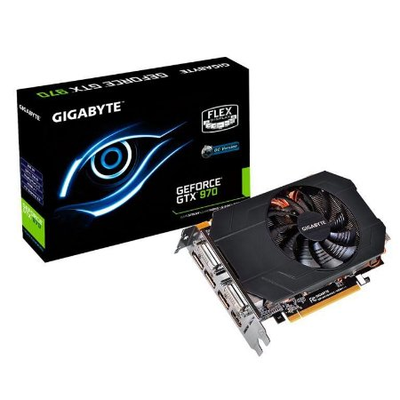 GIGABYTE GeForce GTX 970 OC MINI ITX 4GB 256-Bit GDDR5 PCI Express 3.0 HDCP (GV-N970IXOC-4GD)