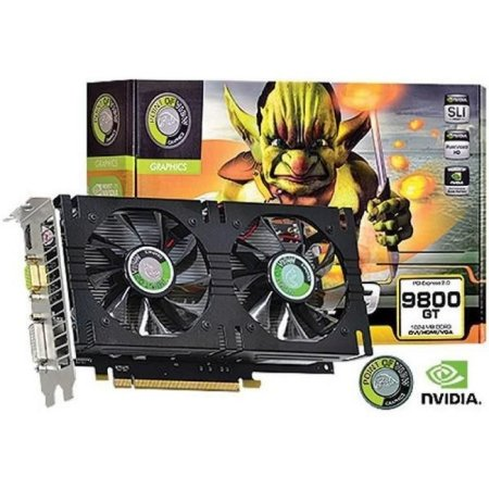 Point of View NVIDIA GeForce GT 9800 1Gb 256-bit GDDR3 (R-VGA150913G-2)