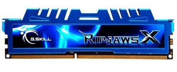 Memória G.SKILL Ripjaws X Series 8GB DDR3 1600 (PC3 12800) (F3-1600C9S-8GXM)