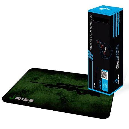 Mousepad Rise Gaming Sniper Costurado Grande Fibertek (RG-MP-05-SNP)