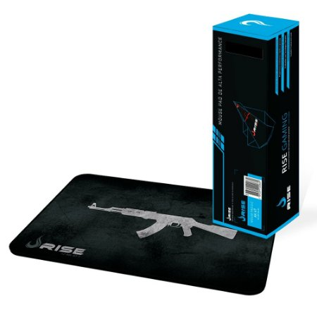 Mousepad Rise Gaming AK47 Costurado Grande Fibertek (RG-MP-05-AK)