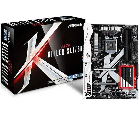 ASRock Z270 KILLER SLI/BR LGA 1151 Intel Z270 HDMI SATA 6Gb/s USB 3.0 ATX Intel