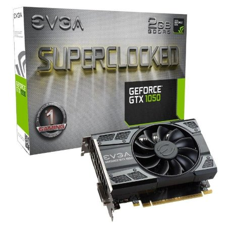 EVGA GeForce GTX 1050 SC GAMING 2GB GDDR5 DX12 OSD Support (PXOC) (02G-P4-6152-KR)