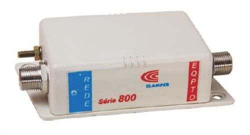Protetor contra surtos DPS Clamper Série 800 822.X.015 / BNC FM - FM