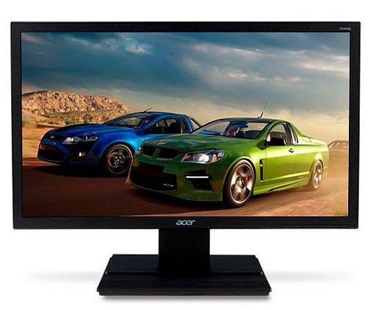 "Monitor Acer V6 Series V226HQL Black 21,5"" LED Full HD VGA/DVI, 5ms (UM.WV6AA.A04)"